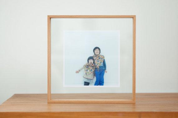 フォトフレーム 手焼き写真 アナログ写真 記念写真