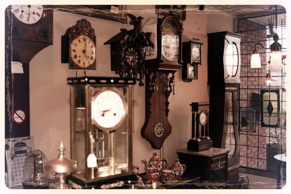Verkoop antieke klokken verkoper