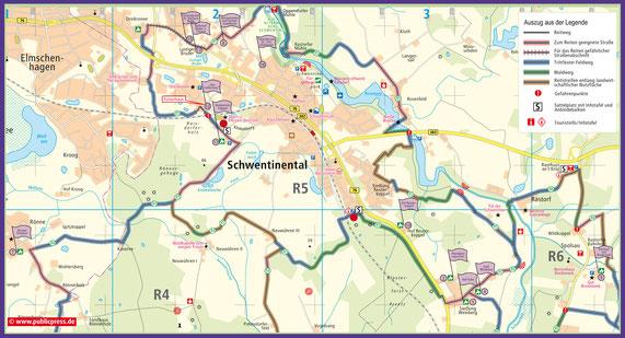 R5 mit Sattelplätzen Reitanlage am Klinkenberg und Parkplatz an der B76 in Raisdorf