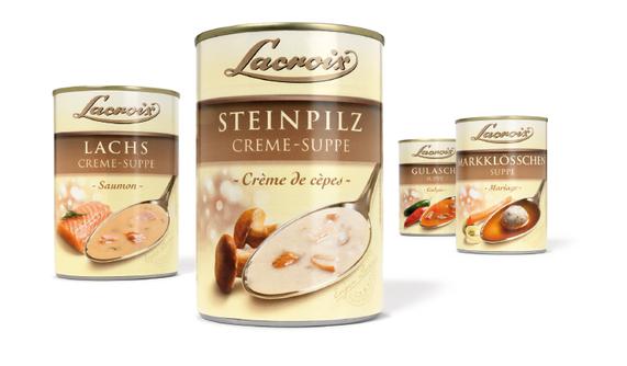 Lacroix - Feinkost - Suppe -  französisch - Premium - Relaunch - hochwertig - Design - Packaging - DesignKis - 2012  - Verpackung