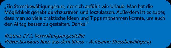 Gesundheitskurs Raus aus dem Stress - Achtsame Stressbewältigung, Hagen, www.mindful-balance.de