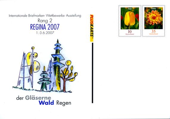 REGINA REGENIA 2007 Briefmarkenausstellung