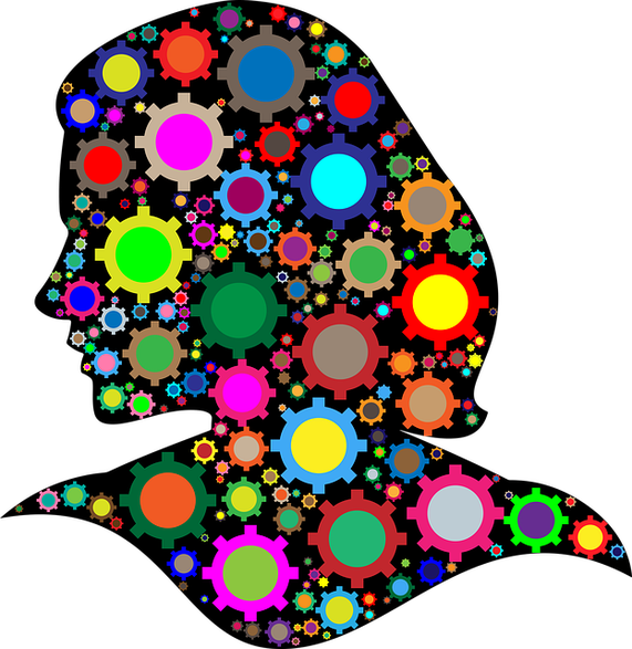Gedankenkarusell: wenn man nicht mehr abschalten kann; Quelle: pixabay.com