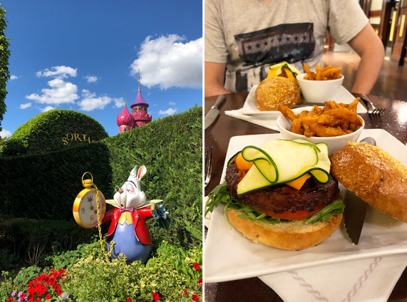 vegan disneyland parijs