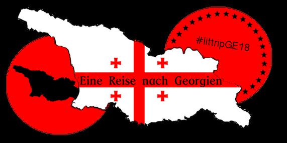 Eine Reise nach Georgien - Logo
