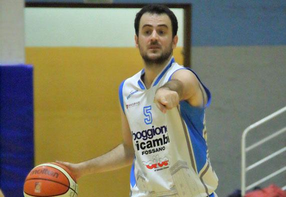 Stefano Castellano, per lui 11 punti nella sfida contro Saluzzo - Guido Fissolo ph.