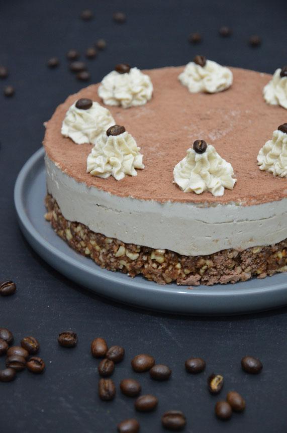 Tiramisu-Torte, vegan