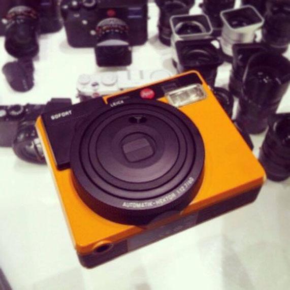 Die Leica Sofort auf der Photokina. Copyright: Wolfgang S,