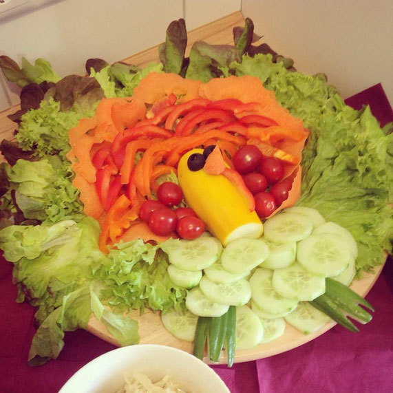 Salat-Truthahn, vegan