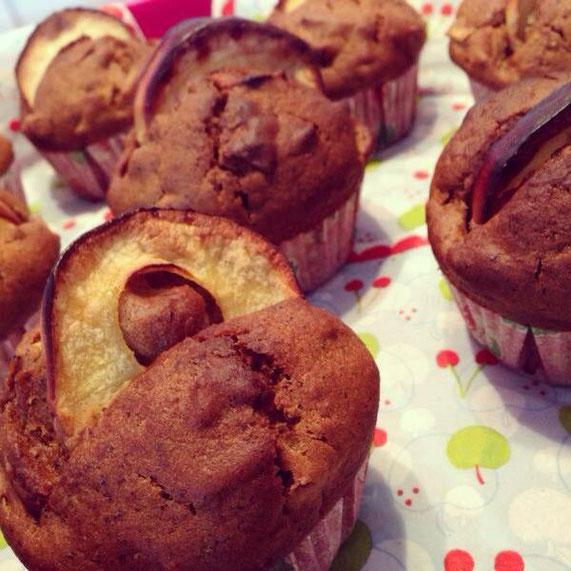 Apfel-Chaitee-Muffins