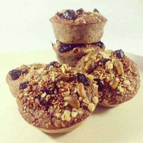 Frühstücksmuffins, vegan