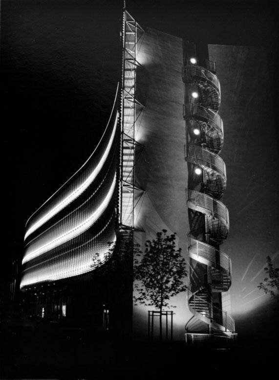 Nacht im Mertonviertel                                                  Foto: Hartmut Kullmann