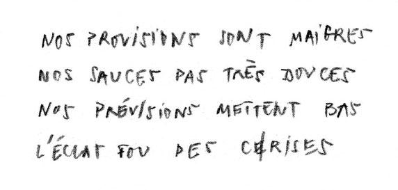 JC FAREY - L'éclat fou des c(e)rises - texte