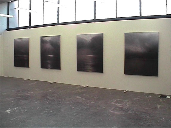 """Graduate Exhibition"" Untitled (death and rebirth 6.7.8,9) Musashino Art University, 2004"