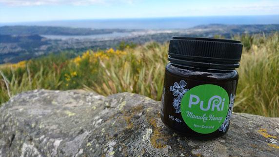 Puri miel de Manuka en Nouvelle-Zélande