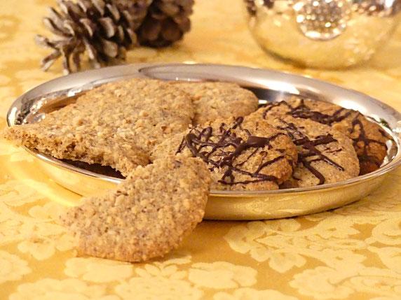 Haselnuss Cookies