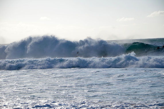 Pipeline-Oahu-Wave-Surfer
