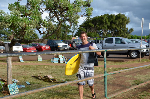 Bodyboard-Maui-Ho'okipa Beach Park