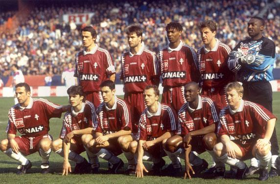 FC METZ Finale Coupe De La Ligue 1996