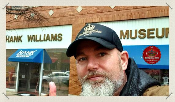 Weiter ging es in Montgomery, dem offiziellen Williams Museum