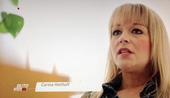 Verkehrstherapeutin Carina Holthoff im Interview bei Vox auto mobil am 12. Januar 2016
