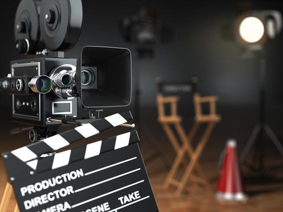set de grabación de videos