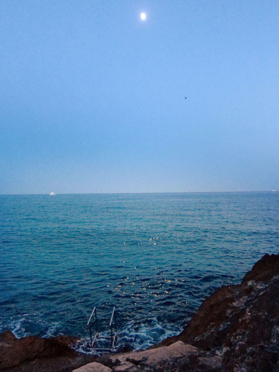 Campingplatz Lerici am Meer, Ligurien