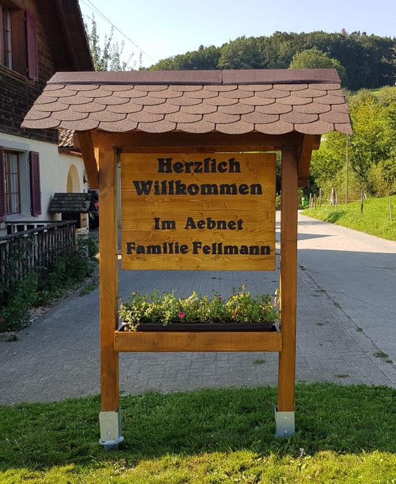 Vielen Dank Familie Fellmann für den Auftrag.