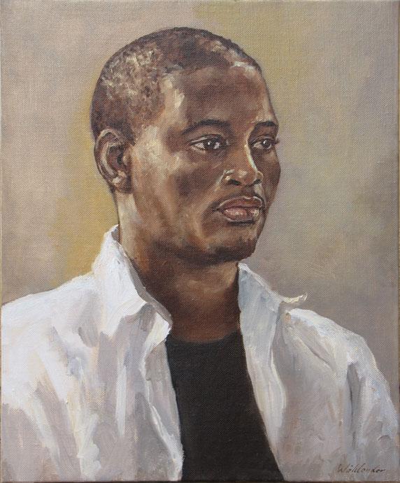 Tony Wahlander (Wåhlander) peint aussi de nombreux portraits, ici celui du Père Dieudonné