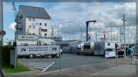 Stellplatz Schleswig Hafen