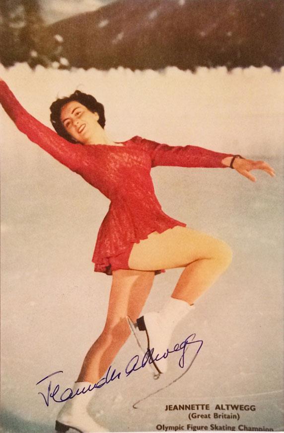 Autograph Jeanette Altweg Autogramm
