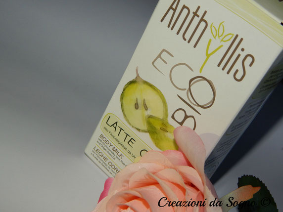 Anthyllis Eco Bio Latte Corpo