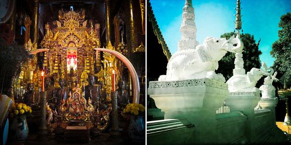 Das Wat Pa Dara Pirom nahe Chiang Mai