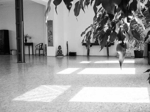 Der Raum der tai chi Schule Düsseldorf