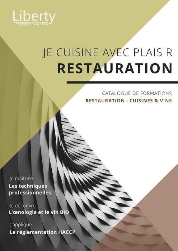 formation cuisine et restauration