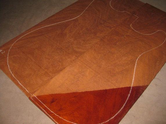 Vin.キューバンマホガニー、推定19世紀前半のテーブル材です(2セットあり)