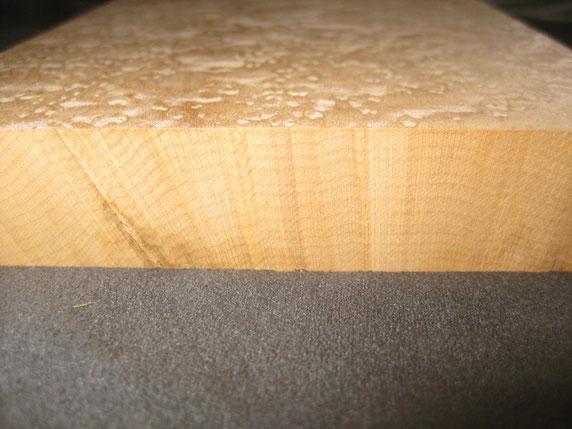 木口杢刺し断面