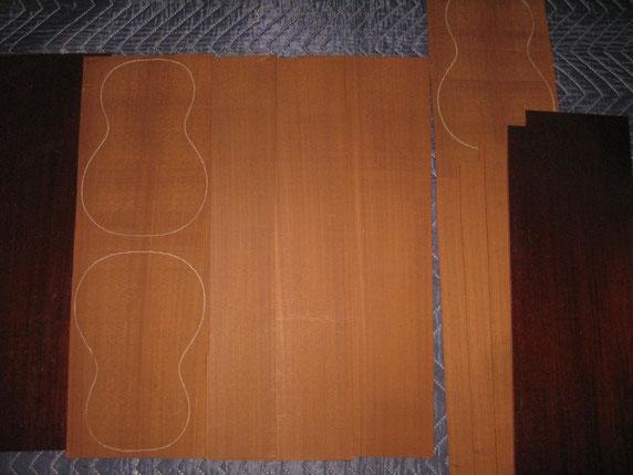 特濃板は家具塗装のまま