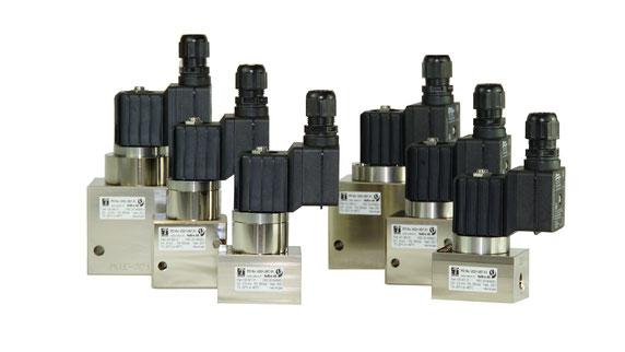 Gasventile der Baureihe 135 bis 350 bar / Series 135 solenoid valves for up to 350 bar