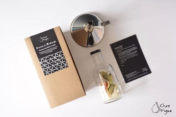 Kit DIY pour aromatiser la vodka: Saveurs de Thaïlande - Cliquez sur la photo pour avoir plus d'informations