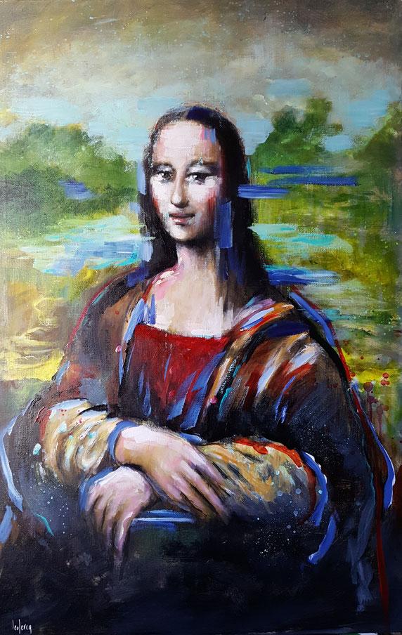 bernadette leclercq art tableau peinture Joconde