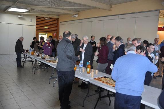 Discours de nos élus lors du forum des associations de patrimoine à Bourg-de-Péage