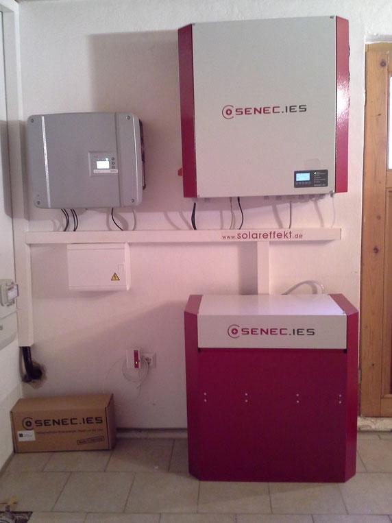 SENEC Photovoltaik Speicher Ort: 09421 Schwandorf