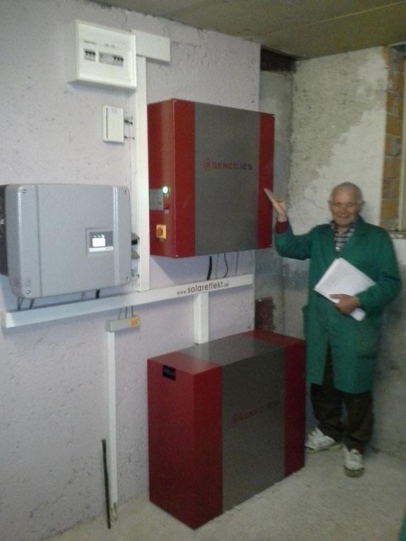 SENEC Speicher Ort Lappersdorf/Schwaighausen