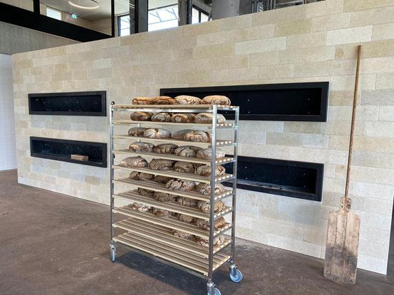 AGR Biotec Holzbackofen mit Holzpellets beheizt
