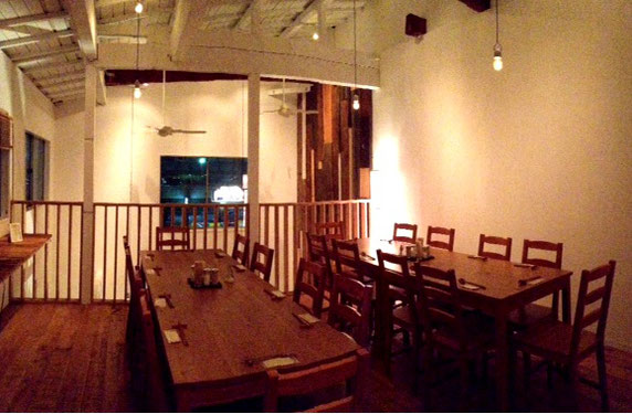 2階フロアーは24名様までOK『フロアー貸切り』で歓送迎会など飲み会に好評です。