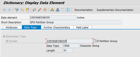 Data Element: ZSPOPARTGROUP