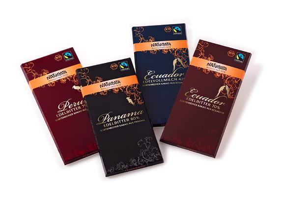 NATURATA - Schokolade - Premium -Edelschokolade - Relaunch - Design - Packaging - DesignKis - 2009 - Verpackung