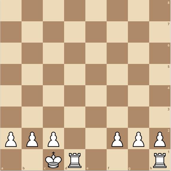 練馬チェス教室  キャスリング 入城 変則ルール ロングキャスリング