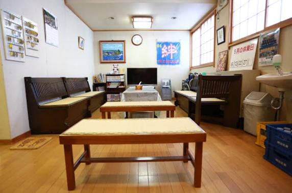 フロント休憩室